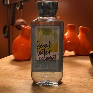 Beach Water Coconut Bath & Body works shower gel